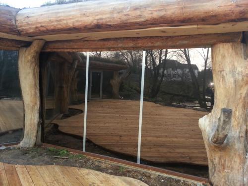 Veidrodinė plėvelė fasado langams