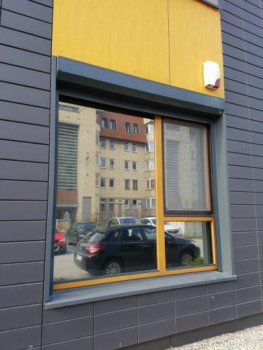 Veidrodinė plėvelė langams